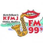 Logo da emissora KFMJ 99.9 FM