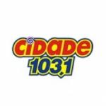 Logo da emissora Rádio Cidade 103.1 FM