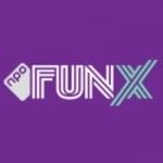 Logo da emissora Fun X Amsterdam 96.1 FM