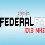 Logo da emissora Rádio Federal 101.3 FM
