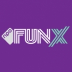 Logo da emissora Fun X Plus 96.1 FM