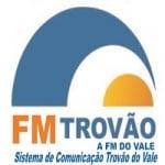 Logo da emissora Rádio FM Trovão