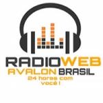 Logo da emissora Rádio Web Avalon Brasil