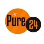 Logo da emissora Pure 24