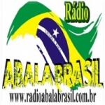 Logo da emissora Rádio Abala Brasil