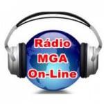 Logo da emissora Rádio MGA On-line