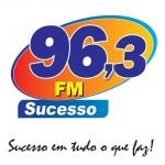 Logo da emissora Rádio Sucesso 96.3 FM
