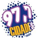 Logo da emissora Rádio Cidade 97.7 FM