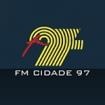 Logo da emissora Rádio Cidade 97.9 FM