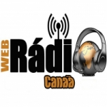 Logo da emissora Rádio Canaã