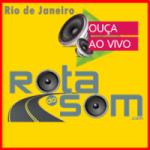 Logo da emissora Rádio Rota Do Som