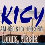 Logo da emissora KICY 850 AM