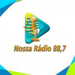 Logo da emissora Nossa Rádio FM