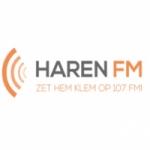Logo da emissora Haren 107 FM