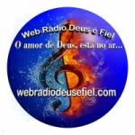 Logo da emissora Web Rádio Deus é Fiel