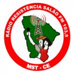 Logo da emissora Rádio Resistência Salão 103.5 FM