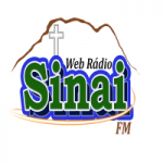 Logo da emissora Rádio Sinai FM