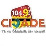 Logo da emissora Rádio Cidade 104.9 FM