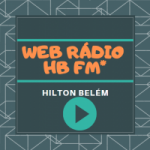 Logo da emissora Rádio Web HB FM