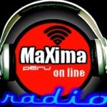 Logo da emissora Rádio Maxima FM