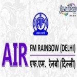 Logo da emissora FM Rainbow 102.6 FM