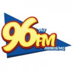 Logo da emissora Rádio Veredas FM 96.7