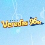 Logo da emissora Rádio Veredas 96.7 FM