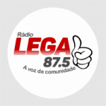Logo da emissora Rádio Legal 87.5 FM