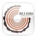 Logo da emissora KNBA 90.3 FM
