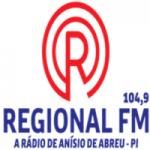 Logo da emissora Rádio Regional 104.9 FM