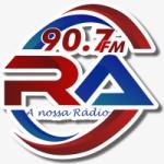Logo da emissora Rádio Ariquemes 90.7 FM