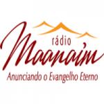 Logo da emissora Rádio Maanaim 100.3 FM