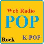 Logo da emissora Pop Web Rádio