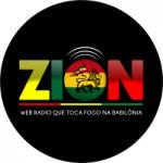 Logo da emissora Rádio Zion