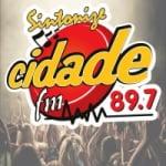 Logo da emissora Rádio Cidade 89.7 FM