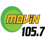 Logo da emissora KNLT 105.7 FM