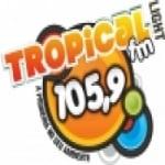 Logo da emissora Rádio Tropical 105.9 FM
