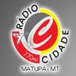 Logo da emissora Rádio Cidade 770 AM