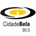Logo da emissora Rádio Cidade Bela 90.5 FM