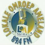 Logo da emissora Lokale Omroep Ameland 89.4 FM