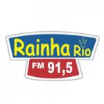 Logo da emissora Rádio Rainha Rio