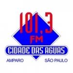 Logo da emissora Rádio Cidade das Águas 101.3 FM