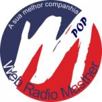 Logo da emissora Rádio Masther Pop