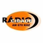 Logo da emissora Rádio Cidade 670 AM