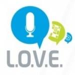 Logo da emissora Love Radio 106.6 FM