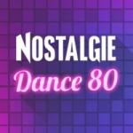 Logo da emissora Radio Nostalgie Dance 80