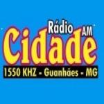 Logo da emissora Rádio Cidade 1550 AM