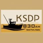 Logo da emissora KSDP 830 AM