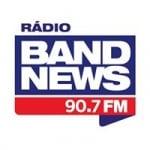 Logo da emissora Rádio BandNews 90.7 FM