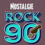 Logo da emissora Radio Nostalgie Rock 90